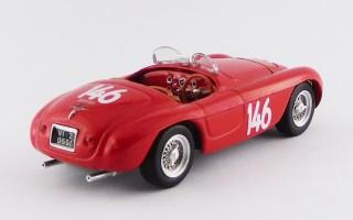 ART367 FERRARI 166 MM BARCHETTA - Coppa d'Oro delle Dolomiti 1950 - G. Marzotto - #0034 - WINNER