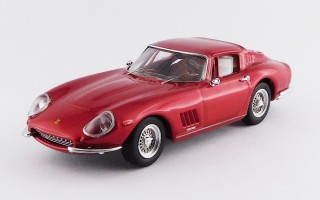 BEST9663 FERRARI 275 GTB/4 - Red met.