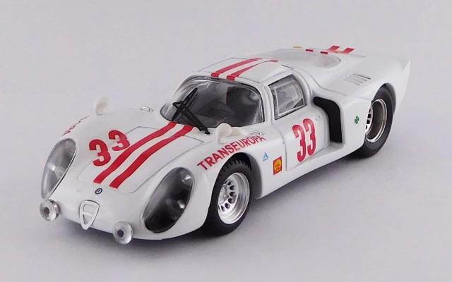 BEST9665 ALFA ROMEO 33.2 COUPE' – 12 Hours Interlagos 1970 – Marivaldo Fernandes