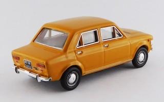 RIO4539 FIAT 128 - 4 Porte 1969 - Giallo Positano/Yellow Positano