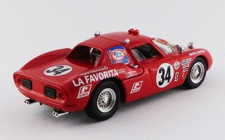 BEST9668 FERRARI 250 LM - 24 Hours Daytona 1968