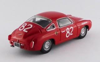 BEST9669 FIAT ABARTH 850 ZAGATO - 500 Km. Nürburgring 1960
