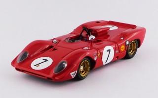 BEST9672 FERRARI 312 P Spyder - 1000 Kilometres Nürburgring 1969 - Rodriguez/Amon