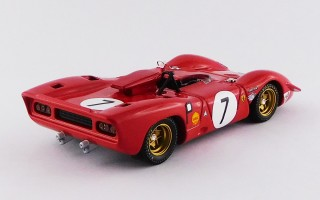 BEST9672 FERRARI 312 P Spyder - 1000 Kilometres Nürburgring 1969