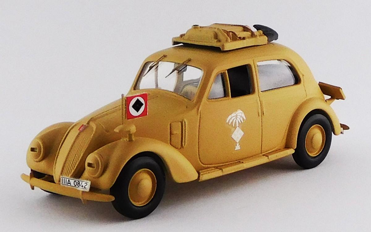 Deutsche AfrikaKorps Service 1941 FIAT 1500