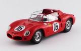 ART376 - FERRARI DINO 268 SP - Le Mans Test 1962 - Rodriguez / Bandini / Parkes / Gendebien / Mairesse