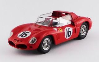 ART376 FERRARI 268 DINO SP - Le Mans Test 1962 - Rodriguez / Bandini / Parkes / Gendebien / Mairesse