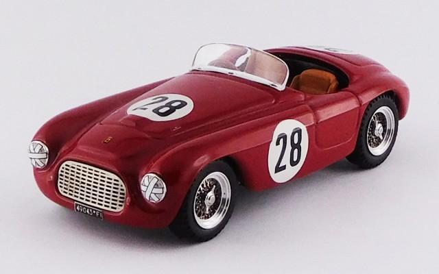 ART378 - FERRARI 166 MM BARCHETTA - Portugal Grand Prix 1952 - C. Biondetti