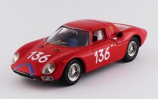 BEST9683 - FERRARI 250 LM - Targa Florio 1965 - Nicodemi / Lessona