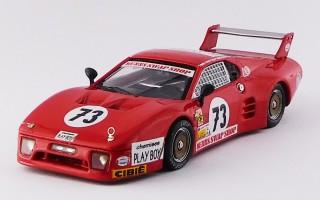 BEST9323 - FERRARI 512 BB LM 3 Serie - Le Mans 1982 - Lenier / Morin / Nenn