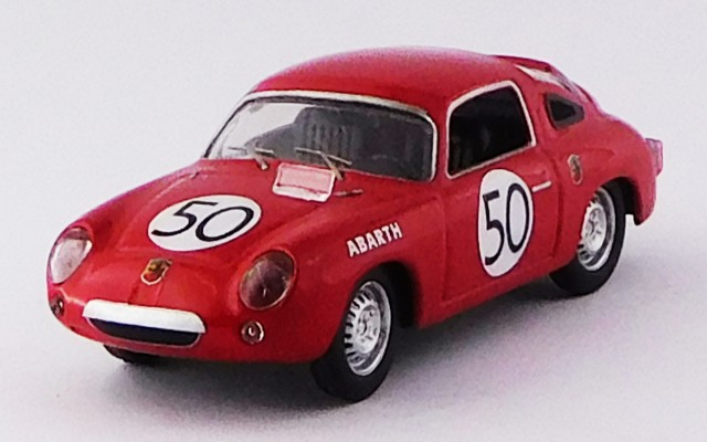 BEST9510 - FIAT ABARTH 950 S - Le Mans 1960 - Guichet / Condriller