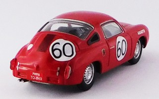 BEST9511 - FIAT ABARTH 700 S - Le Mans 1960 - Rigamonti / Cattini