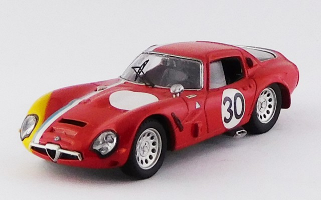 BEST9529 - ALFA ROMEO TZ2 - SPA 1967 - Trosch / Pilette