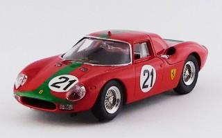 "BEST9198 - FERRARI 250 LM - Monza 1966 - De Siebenthal / ""Peixino"""