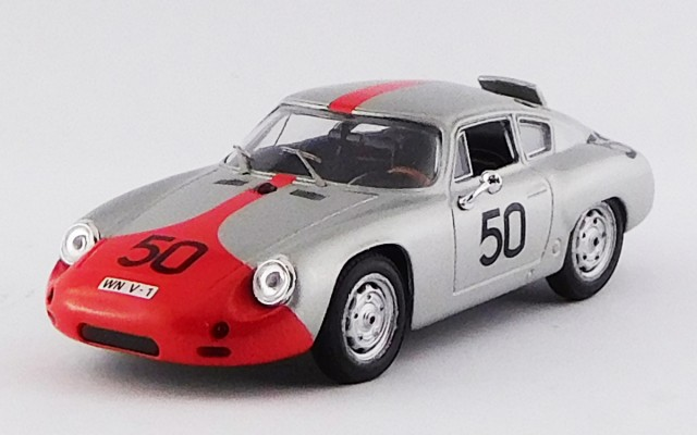 BEST9425 - PORSCHE 356B CARRERA GTL ABARTH - Targa Florio 1962 - Strale / Hahnl