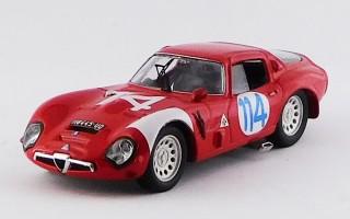 BEST9441 - ALFA ROMEO TZ2 - Targa Florio 1966 - Geki / Zeccoli