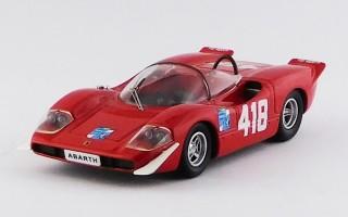 BEST9554 - ABARTH 2000 S - Trieste - Opicina 1969 - Pilone