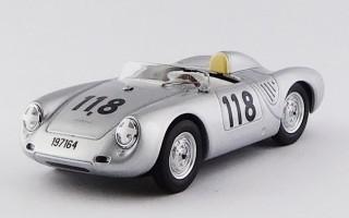 BEST9701 - PORSCHE 550 RS - Targa Florio 1959 - Mahle / Strähle / Linge