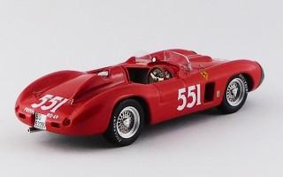 ART385 FERRARI 860 MONZA -Mille Miglia 1956 - Collins / Klementaski