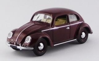 RIO4565 -VOLKSWAGEN MAGGIOLINO - 1953 - 1200 De Luxe - Rosso Bordeaux/Red Bordeaux