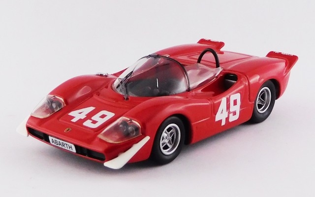 BEST9704 - ABARTH 2000 SE - Mont Ventoux 1969 - Arturo Merzario