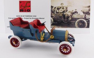RIO4567- ALFA 24 HP TORPEDO 1910 - First prototype Alfa - Project by Giuseppe Merosi