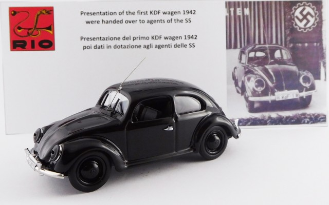 RIO4568 - VOLKSWAGEN - Presentation of the first kdf wagen 1942 - Were handed over to agents of the S. S