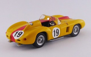 ART389 - FERRARI 290 MM - G.P. Portogallo / Monsanto 1957 - A. de Changy