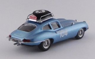 BEST9711 - JAGUAR E TYPE COUPE' - Rallye Monte-Carlo 1965 - Pinder / Pollard