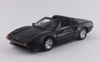 BEST9712 - FERRARI 308 GTS - USA version 1979 - Nero / Black