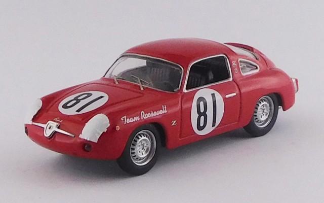 BEST9713 - FIAT-ABARTH 750 RECORD MONZA - SCCA National Cumberland 1959 - Duncan Black