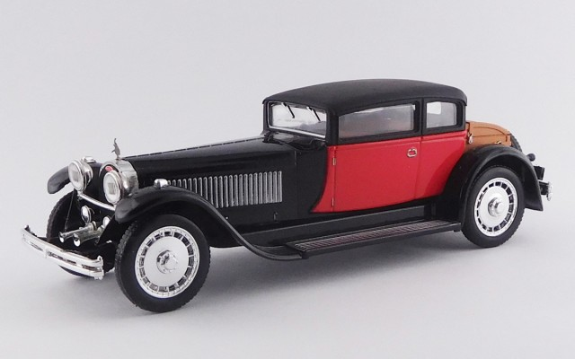 RIO4227-E - BUGATTI 41 ROYALE WEYMANN -1929 Black and red Cheap version