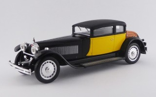 RIO4226-E- BUGATTI 41 ROYALE WEYMANN -1929 - Black and yellow -Cheap version