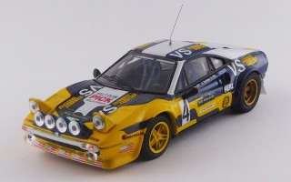 "BEST9716 - FERRARI 308 GTB Gr.4 - Rally Piancavallo 1980 - ""Nico"" / Barban"