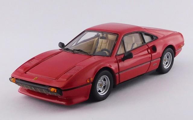 BEST9721 - FERRARI 308 GTB - America Version 1976 - Rosso/Red