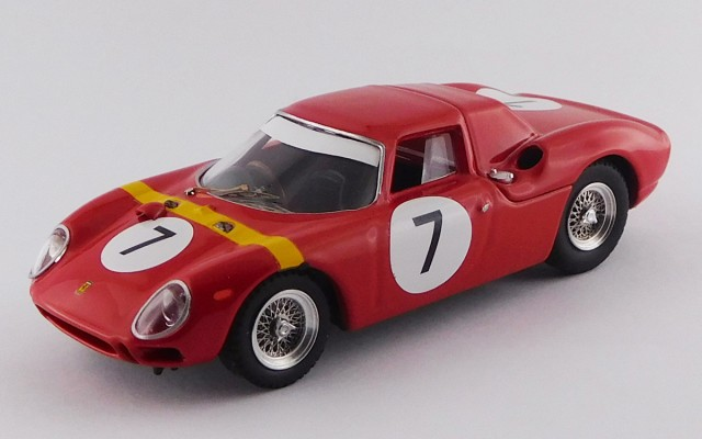 BEST9730 - FERRARI 250 LM - G.P. Angola, Luanda 1964 - Willy Mairesse - Winner