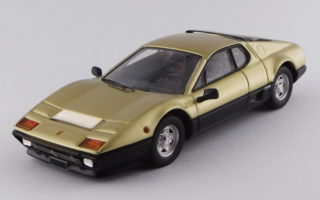 BEST9731 - FERRARI 512 BB - 1977 - Gold and black, Single Sample - Sotheby's Auction 2018