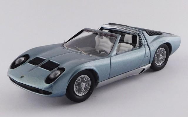 RIO4579 - LAMBORGHINI MIURA ROADSTER - Bertone - Motor Show Bruxels 1968 - Single Sample