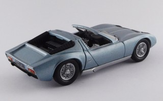 RIO4579 - LAMBORGHINI MIURA ROADSTER - Bertone - Motor Show Bruxels 1968 - Single Sample
