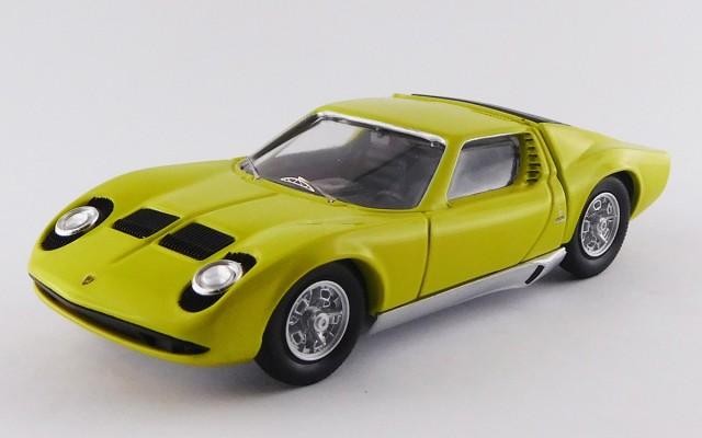 Rio4584 Lamborghini Miura P400s 1968 Bertone Miura Green