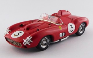 ART398 FERRARI 335 S - Sweden Grand Prix 1957 - Hawthorn / Musso
