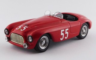 ART399 -FERRARI 166 MM BARCHETTA - Sebring 6 Hours 1950 - Kimberly / Lewis