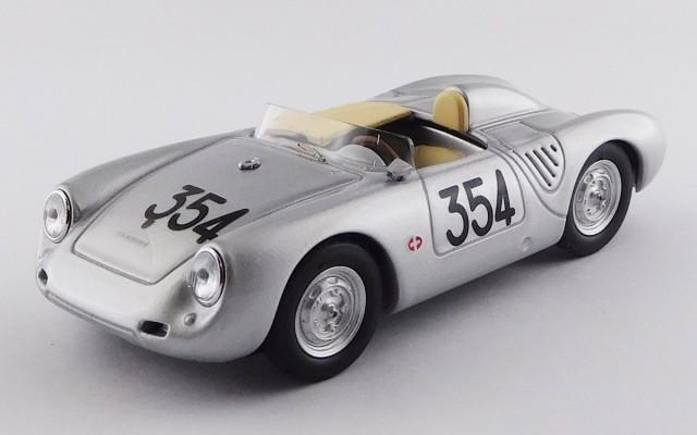 BEST9737 - PORSCHE 550 RS - Mille Miglia 1957 - Heinz Schiller
