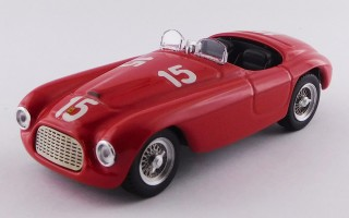 ART400 - FERRARI 166 MM BARCHETTA - Luxemburg GP, Findel 1949 - Luigi Villoresi