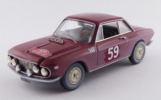 BEST9739 - LANCIA FULVIA COUPE' 1200 HF - Rally di Monte-Carlo 1966 - Cella / Lombardini - R.R. 5th
