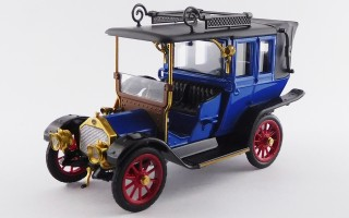 RIO4591 - MERCEDES BENZ 20-35 LANDAULET 1909 - Museo Stoccarda/Stuttgart Museum
