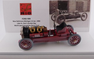 RIO4589 - FORD 999 - New Baltimore Michigan 1904 - World speed record by Henry Ford