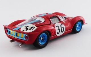 ART207/2 - FERRARI DINO 206 S COUPE' - 24h Le Mans 1966 - Salmon / Hobbs