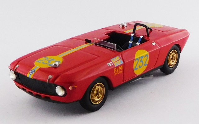 BEST9743 - LANCIA FULVIA F&M SPECIAL HF - Targa Florio 1969 - Maglioli / Pinto