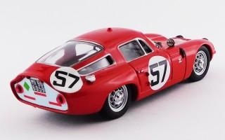 BEST9132/2 - ALFA ROMEO TZ1 - Le Mans 1964 - Bussinello / Deserti